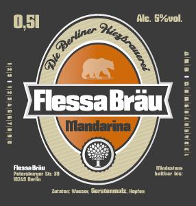 Flessa Red Lager Mandarina Bier
